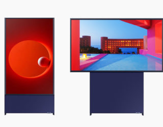 The Sero, el televisor rotable de Samsung