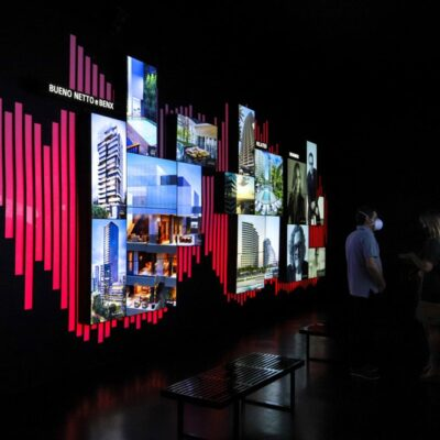 videowall mosaico parque global